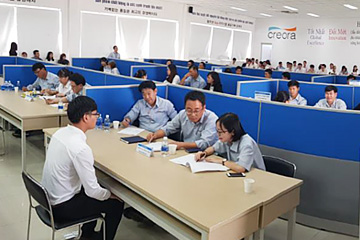 Picture of the Job Fair in Hyosung Vietnam Co., Ltd.